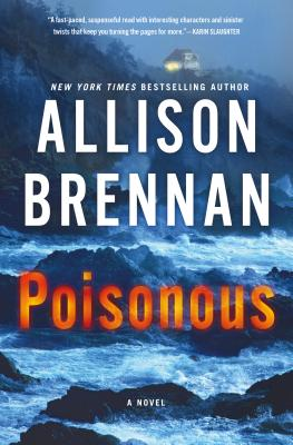 Poisonous (Max Revere Novels), Allison Brennan