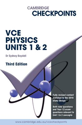 Image for Cambridge Checkpoints VCE Physics Units 1 and 2