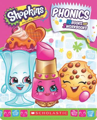 Image for Shopkins Phonics Boxed Set (Incomplete Set - missing 2 books)