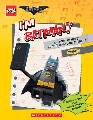 Image for I'm Batman! The Dark Knight's Activity Book with Stickers (The LEGO Batman Movie)