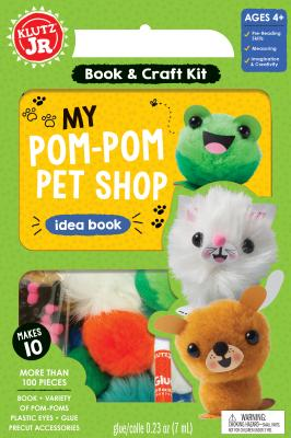 Image for KLUTZ My Pom-Pom Pet Shop Craft Kit