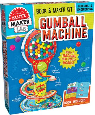 Klutz Maker Lab Gumball Kit (64 Piece), Multicolor