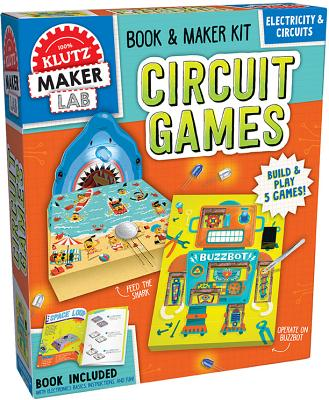 Klutz Maker Lab Circuit Kit (15 Piece), Multicolor