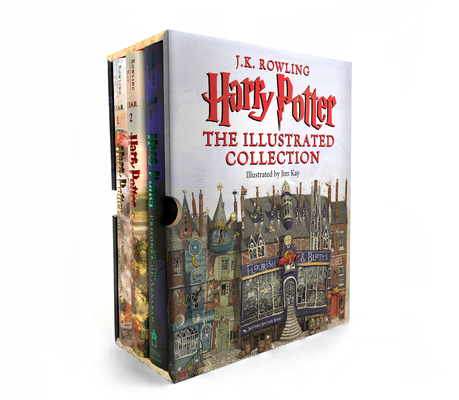 Image for Harry Potter: The Illustrated Collection (Books 1-3 Boxed Set)