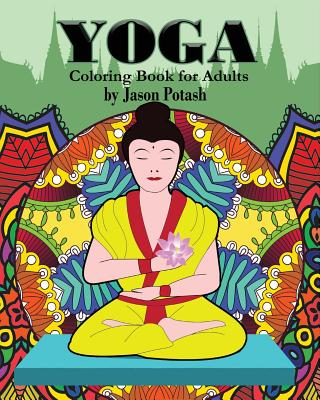 Image for Yoga Coloring Book for Adults