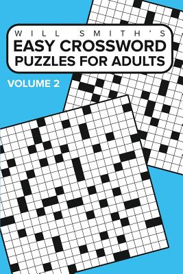 Easy Crossword Puzzles for Adults - Volume 2, Smith, Will