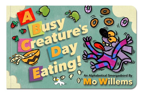 Image for A Busy Creature's Day Eating!