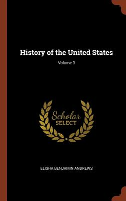 Image for History of the United States; Volume 3