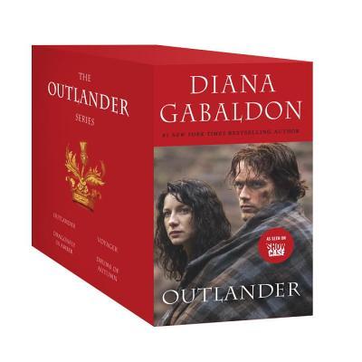 Image for Outlander 4-Copy Mass Market Box Set  Outlander, Voyager, Dragonfly in Amber, Drums of Autumn