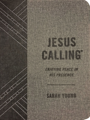 Image for Jesus Calling (Textured Gray Leathersoft): Enjoying Peace in His Presence (with Full Scriptures)