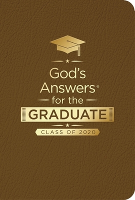 Image for God's Answers for the Graduate: Class of 2020 - Brown NKJV: New King James Version