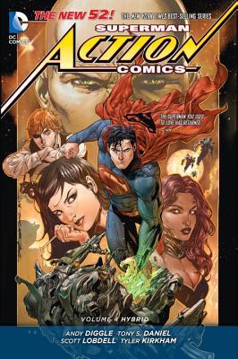 Image for Superman: Action Comics Vol. 4: Hybrid (The New 52) (Superman Action Comics: The New 52!)