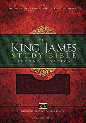 Image for King James Study Bible: Second Edition (Burgundy)