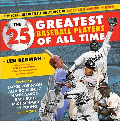 Image for 25 Greatest Baseball Players of All Time