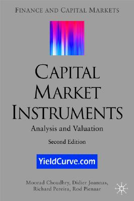 Image for Capital Market Instruments: Analysis and Valuation