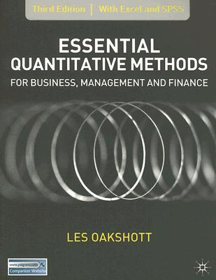 Image for Essential Quantitative Methods: For Business, Management And Finance