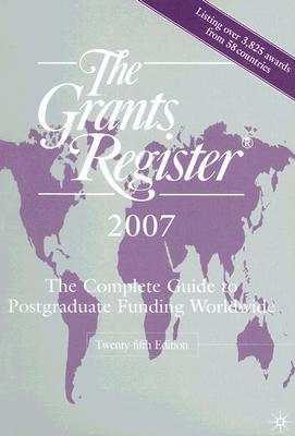 Image for The Grants Register 2007