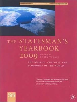 Image for Statesman's Yearbook; the Politics, Cultures and Economies of the World 2009