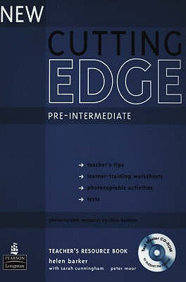 New Cutting Edge Pre-Intermediate Teachers Book and Test Master CD-ROM Pack, Barker, Helen