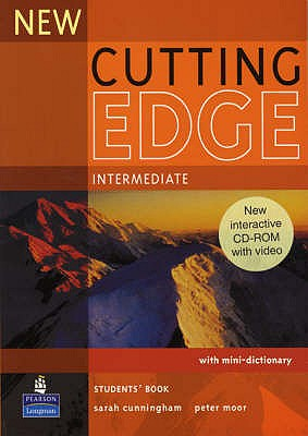 New Cutting Edge Intermediate Student Bk with CD-ROM 2/e, Cunningham, Sarah,  Moor, Peter,  Eales, Frances