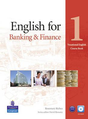 Image for English for Banking & Finance Level 1 Coursebook and CD-Rom Pack