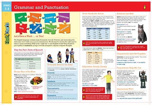 Grammar and Punctuation FlashCharts