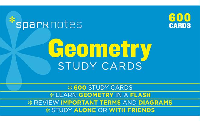 Geometry SparkNotes Study Cards, SparkNotes
