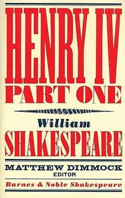 Image for Henry IV Part One (Barnes & Noble Shakespeare) (Pt. 1)