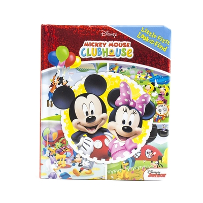Image for Mickey Mouse Clubhouse - My Little First Look and Find Activity Book