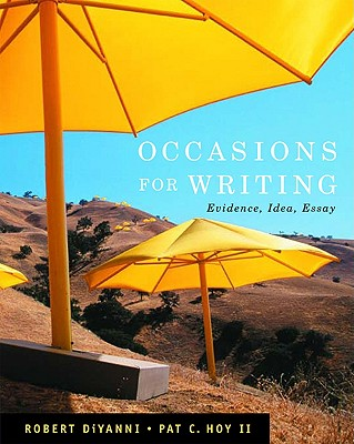 Image for Occasions for Writing: Evidence, Idea, Essay