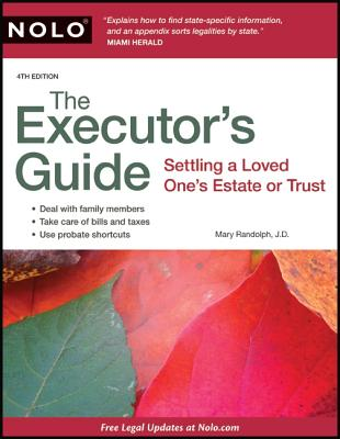 Image for The Executor's Guide: Settling a Loved One's Estate or Trust
