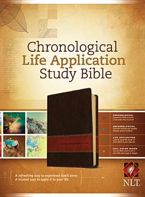 "Image for ""Chronological Life Application Study Bible NLT, TuTone Imitation Leather"""