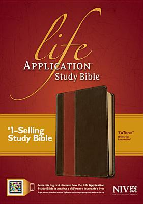 "Image for ""Life Application Study Bible NIV, TuTone Imitation Leather"""