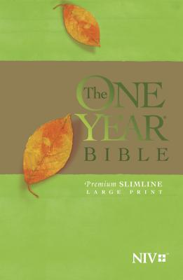 "Image for ""The One Year Bible NIV, Premium Slimline Large Print edition"""