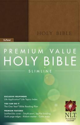 Image for Premium Value Slimline Bible NLT, TuTone