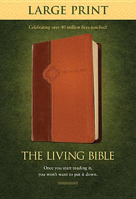 """Image for """"The Living Bible Large Print Edition, TuTone"""""""