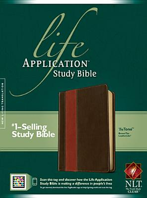 Image for Life Application Study Bible NLT, TuTone