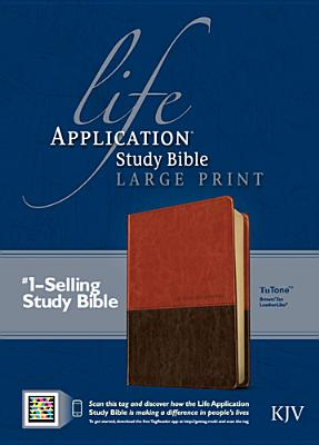 Image for Life Application Study Bible KJV Large Print (Brown/Tan Leatherlike TuTone)