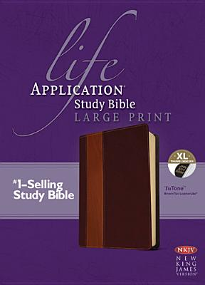 "Image for ""''Life Application Study Bible NKJV, Large Print, TuTone Imitation Leather''"""