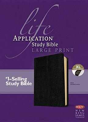 Image for Life Application Study Bible NKJV Large Print Bonded Leather