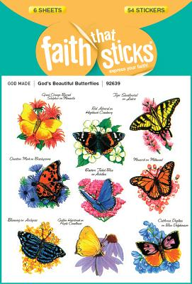 Image for God's Beautiful Butterflies (Faith That Sticks)