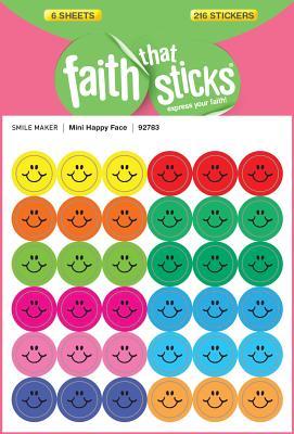 Image for Mini Happy Face (Faith That Sticks)