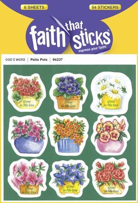 Image for Patio Pots (Faith That Sticks Stickers)
