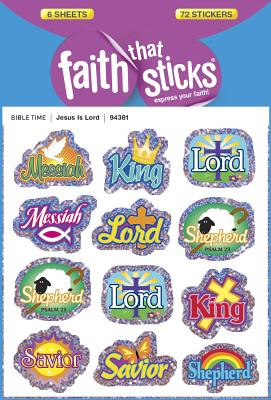Image for Jesus Is Lord (Faith That Sticks Stickers)