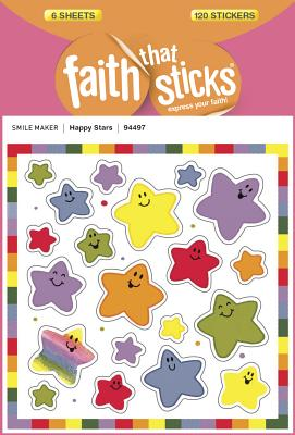 Image for Happy Stars (Faith That Sticks Stickers)