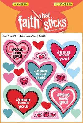 Image for Jesus Loves You (Faith That Sticks Stickers)