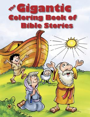 Image for The Gigantic Coloring Book of Bible Stories