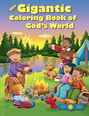 Image for The Gigantic Coloring Book of God's World