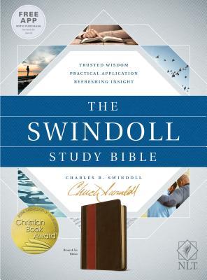 Image for The Swindoll Study Bible NLT, TuTone