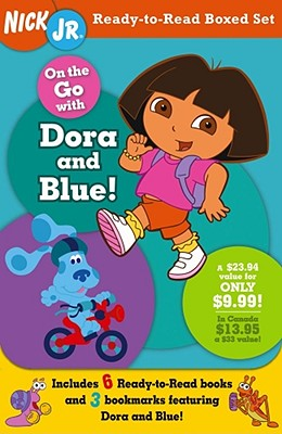 Image for On the Go with Dora and Blue! (Nick Jr. Ready-to-Read Boxed Sets)